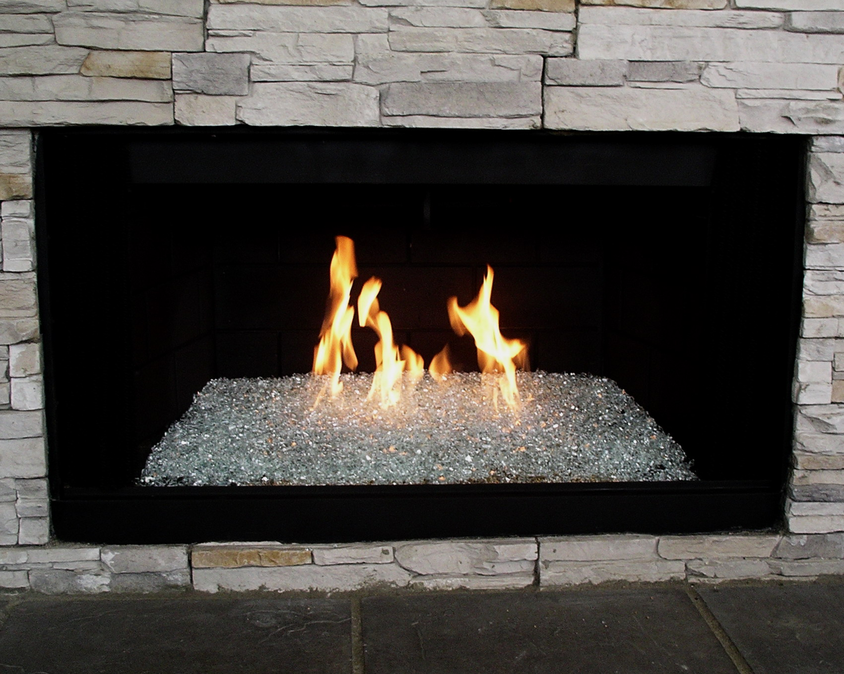 Glass Fire Stones Inspiration