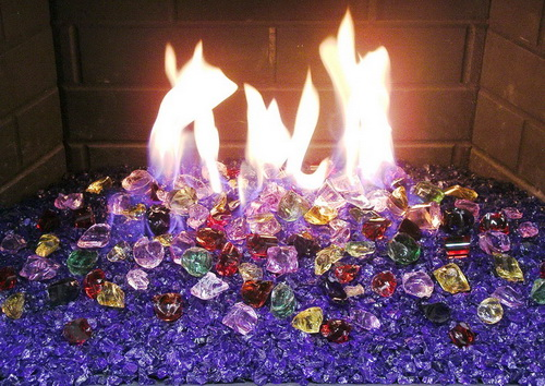 Our San Diego Fireglass Store offers largest selection of Fireplace Glass