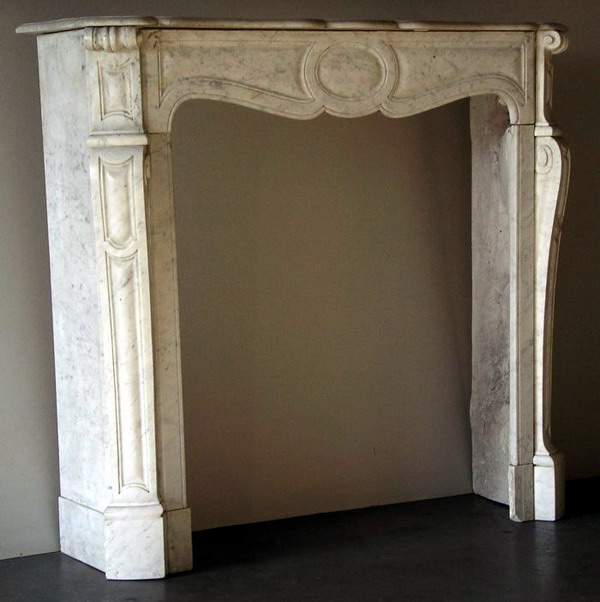 Fireplace Mantel Antique: 111. Price: $9,000.00 Sale Price: $4,500.00 - Cast Stone Mantels