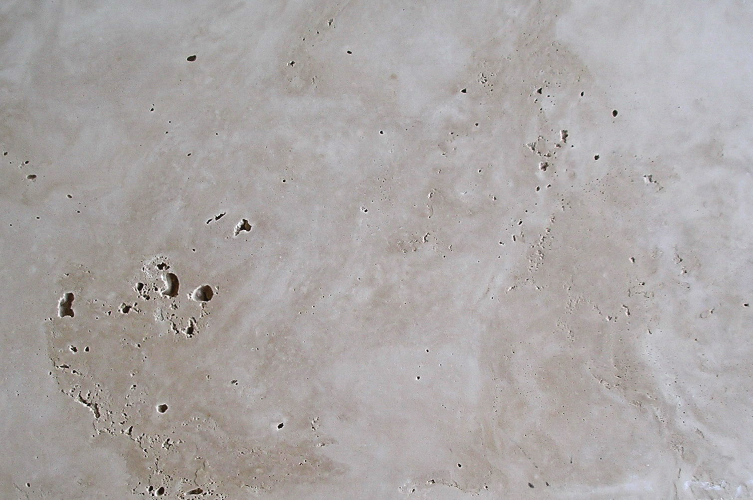 Travertine Faux Finish : Travertine finish