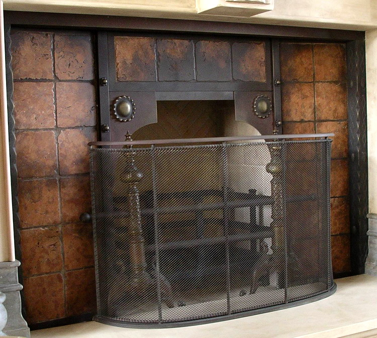 Fireplace Screens San Diego Forged Iron Fireplace Doors Fd036 From Mantel Depot